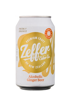 Zeffer - Ginger Beer - NZ - 330ml - Gluten Free - Single Can