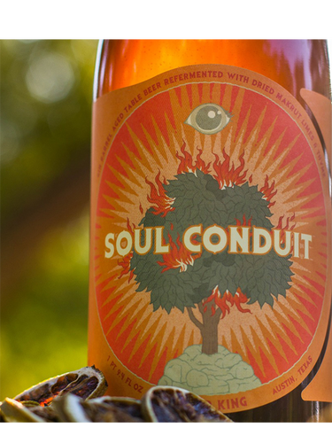 Jester King - Soul Conduit - Gin Barrel Sour - 750ml.