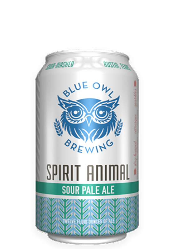 Blue Owl - Spirit Animal - Sour Pale - 355ml