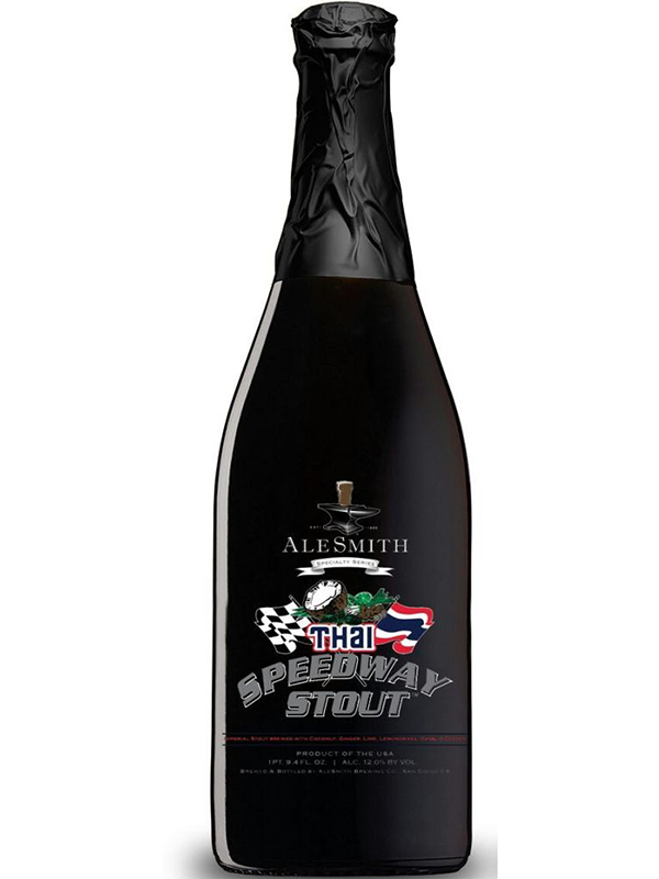 AleSmith - Thai Speedway Stout - Spiced Imperial Stout