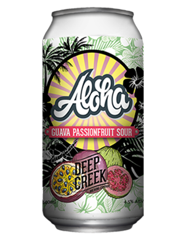 Deep Creek - Tiki Aloha - Guava & Passionfruit Sour - 440ml