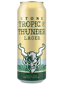 STONE - TALL BOYS - Tropic of Thunder - Tropical Lager - 568ml x 12