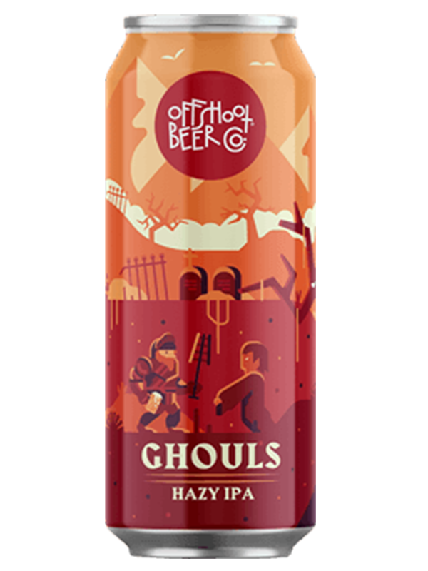 "Offshoot Ghouls ""Small Batch"" - Hazy IPA - 473ml."