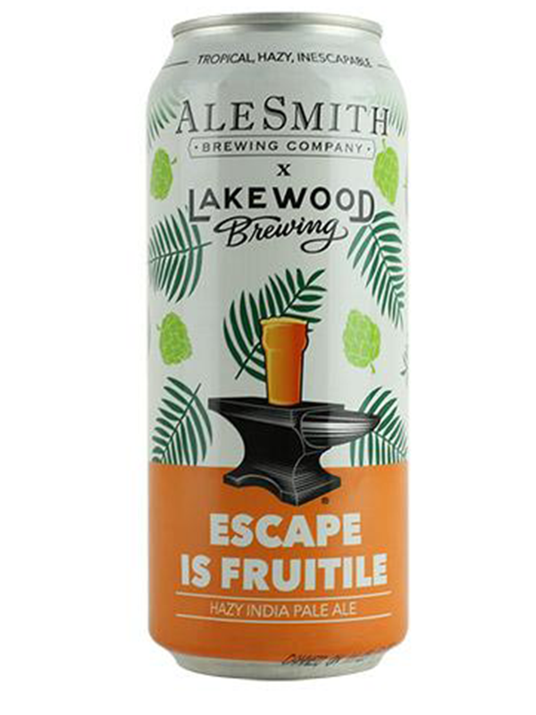 AleSmith - Escape Is Fruitile - Hazy DIPA- 473ml