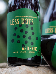 Jester King - Less Dot's - Wild Ale brewed with Black Currents - 750ml.