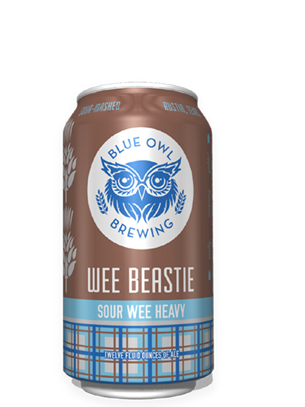 Blue Owl - Wee Beastie - Peated Wee Heavy / Scotch Ale - 355ml..