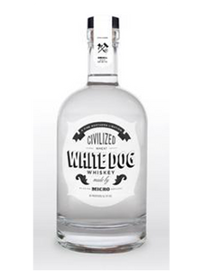 WHISKY - Civilized White Dog Unoaked Whisky   - 750ltr