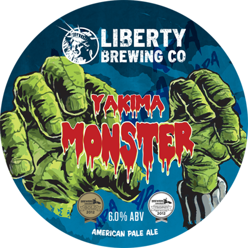 Liberty - Yakima Monster - IPA - 50ltr Keg