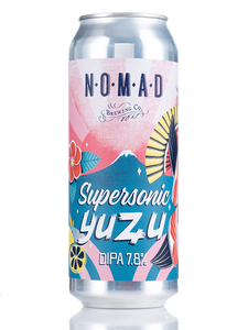 SuperSonic Yuzu Edition DIPA - 500ml Can - 7.8%