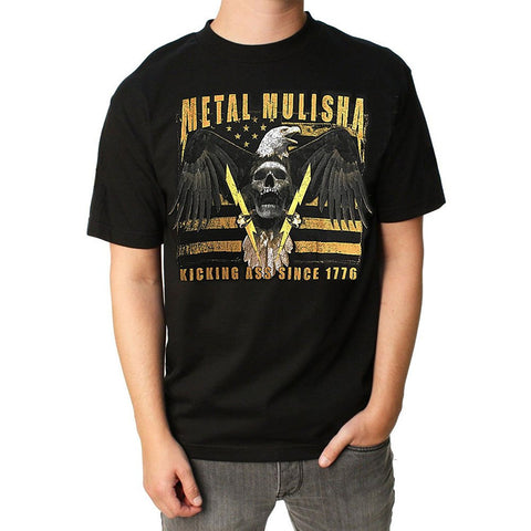 Metal Mulisha Men's 1776 Short Sleeve T-shirt