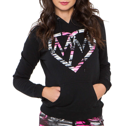 Metal Mulisha Women's Action Pullover Fleece Hoodie