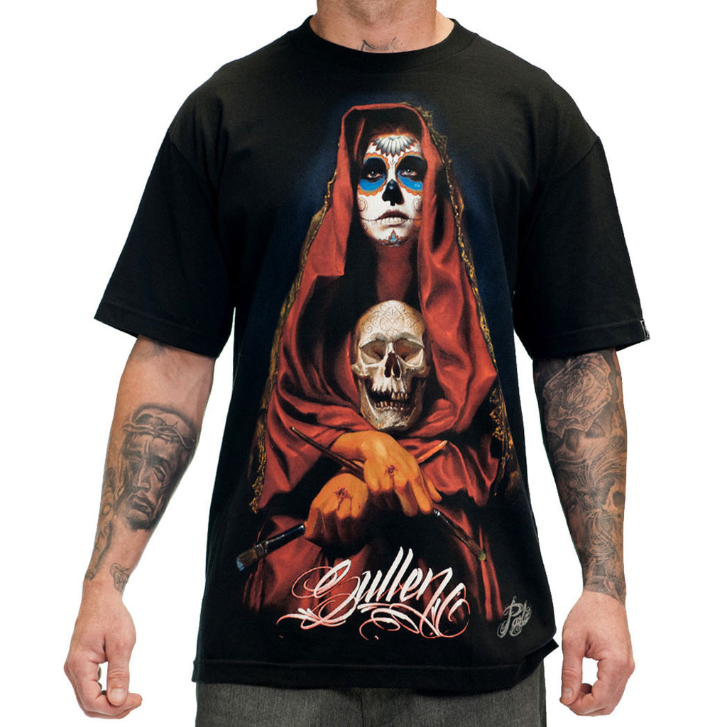 Sullen Men's Acuna Badge Skull Tee