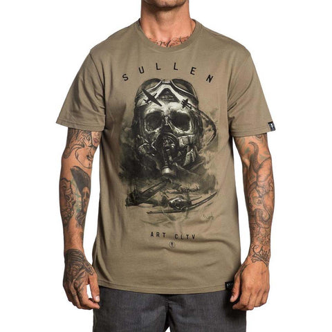 Sullen Men's Air Fight Short Sleeve Tee