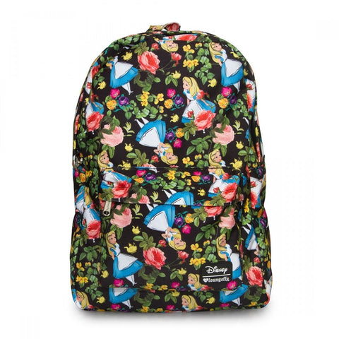Loungefly Alice in Wonderland Floral Backpack