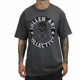 Sullen Men's All Day Badge Tee Charcoal Grey