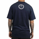 Sullen Men's All Day Badge Tee Navy Blue Back