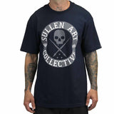 Sullen Men's All Day Badge Tee Navy Blue