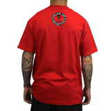 Sullen Men's All Day Badge Tee Red Back