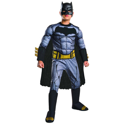 Armored Batman Child's Deluxe Costume with Muscles