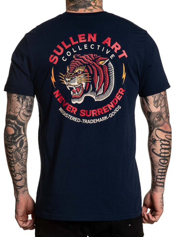 Sullen Men's Auburn Tiger Short Sleeve T-shirt