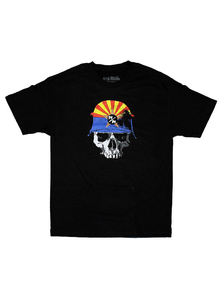 Metal Mulisha Men's Ayzee Short Sleeve Tee Arizona Design