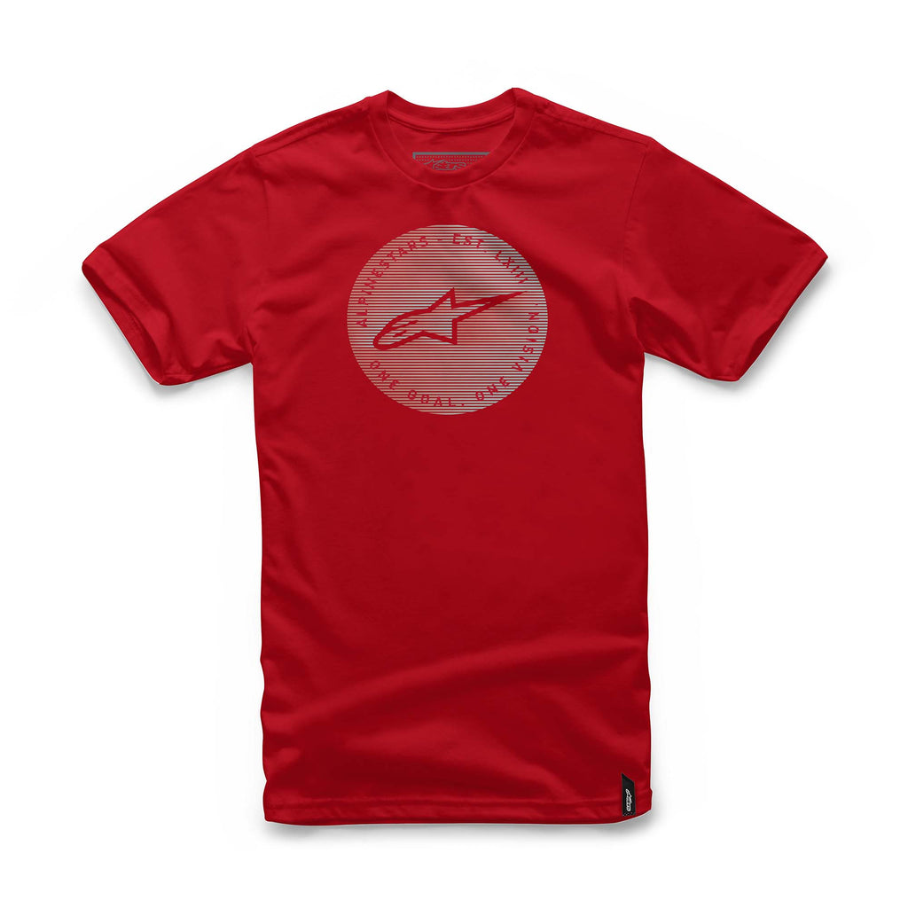 Alpinestars Men's Blur Tee Red