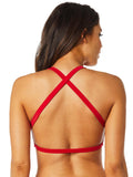 Fox Racing Women's Bolt Bikini High Neck Halter Top and/or Lace Up Bottom