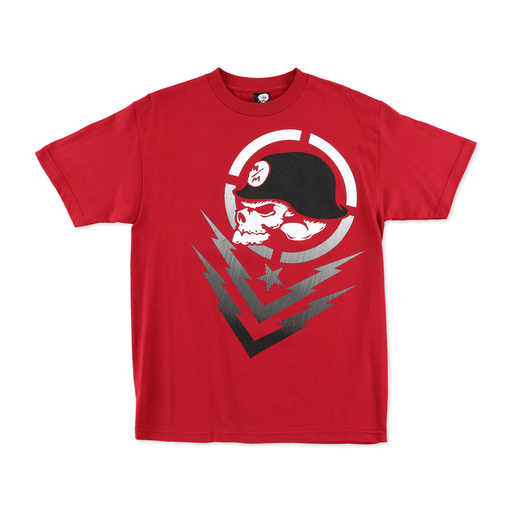 Metal Mulisha Men's Boltz Tee Red