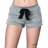 Metal Mulisha Women's Bomber Shorts Charcoal Grey