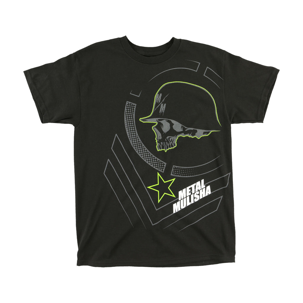 Metal Mulisha Men's Braille Tee Black