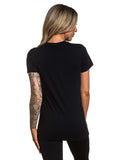 Sullen Angels Women's Brick Badge Short Sleeve Tee