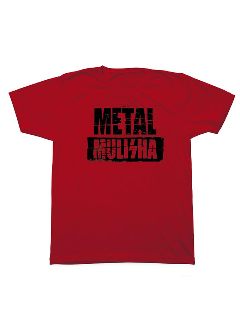 Metal Mulisha Men's Brick Red Short Sleeve T-shirt