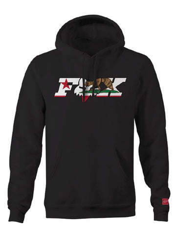 Fox Racing Men's CA California Flag Pullover Fleece Hoodie