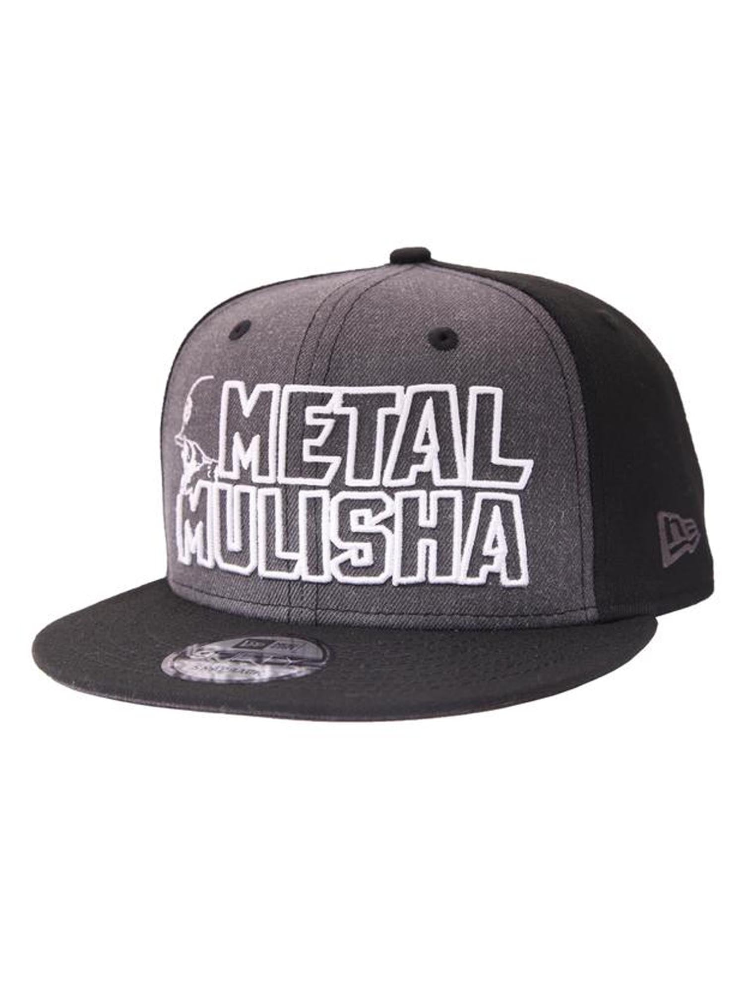 Metal Mulisha Men  039 s Cast New Era Snapback Hat Skull and Helmet ... 7166fba25e3f