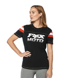 Fox Racing Women's Charger Short Sleeve Knit Tee