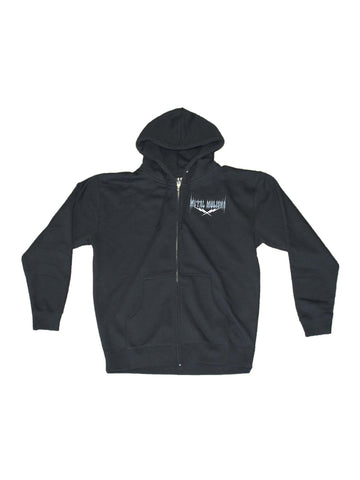 Metal Mulisha Men's Cheat Death Zip Up Hoodie