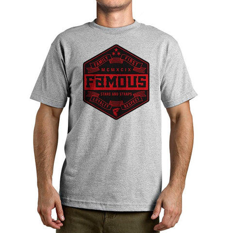 Famous Stars and Straps Cito Shield Men's Tee