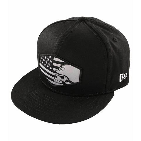 Metal Mulisha Men's Country American Flag Snapback Hat