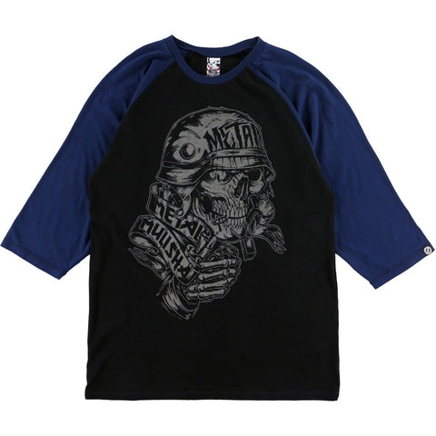 Metal Mulisha Men's Covered Raglan 3/4 Sleeve Tee