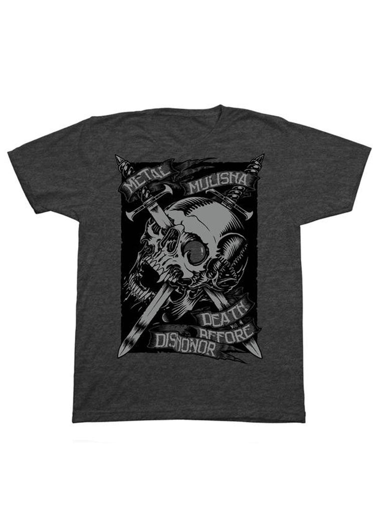 Metal Mulisha Men's DBD Death Before Dishonor Short Sleeve T-shirt
