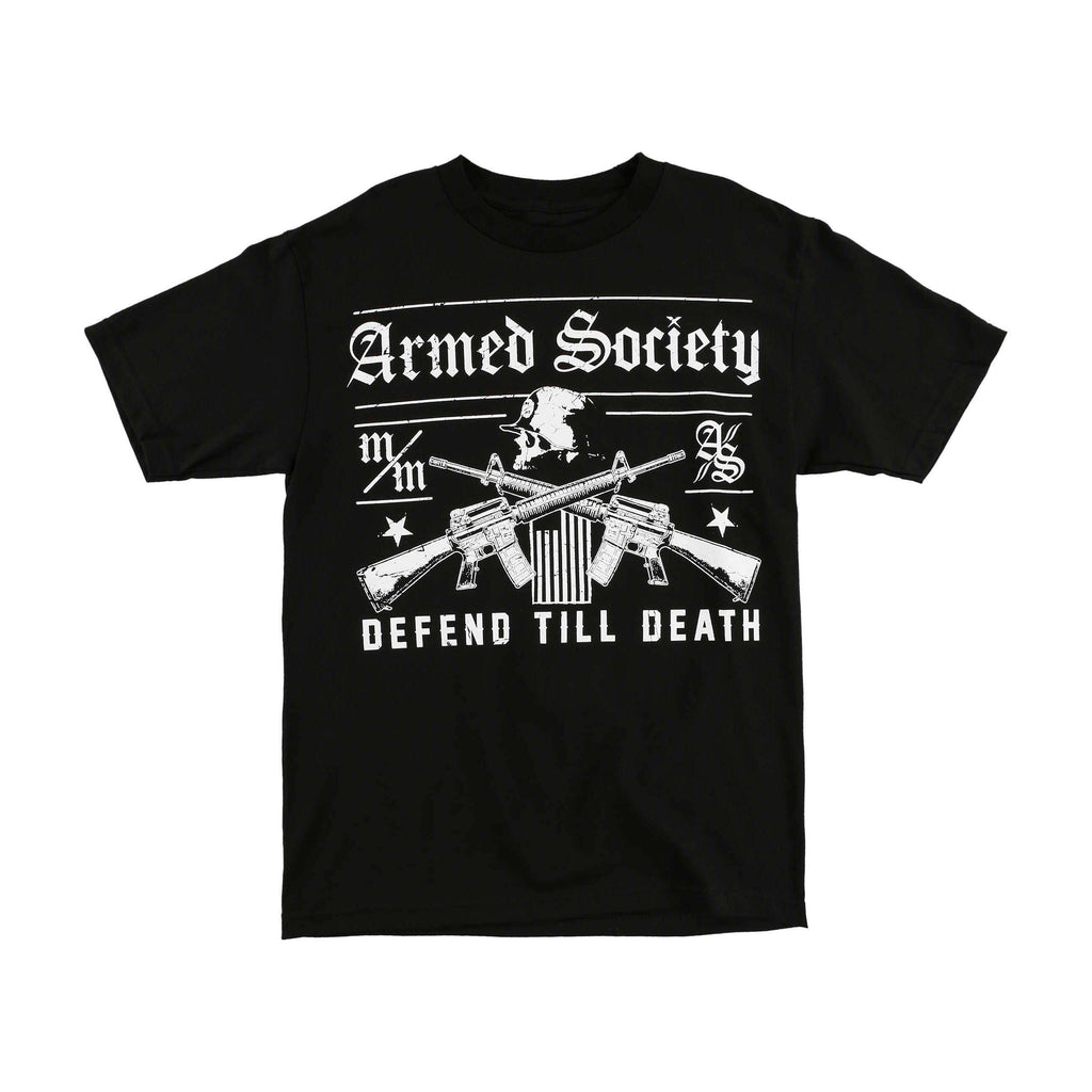 Metal Mulisha Men's Defender Armed Society Tee