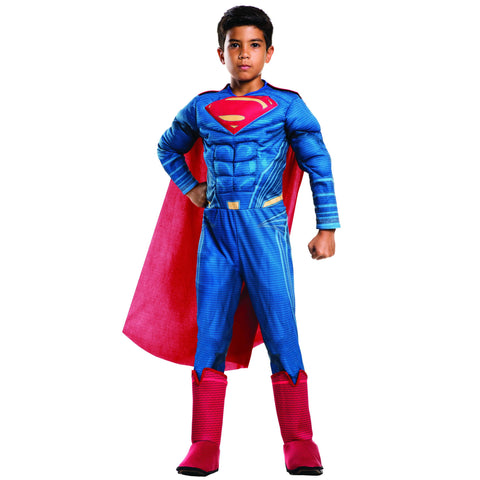 Superman Child's Deluxe Costume With Muscles