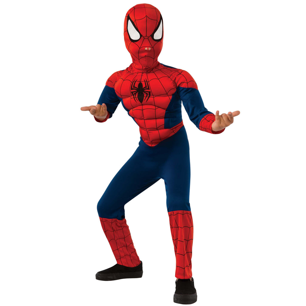 Ultimate Spiderman Deluxe Muscle Chest Costume