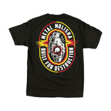 Metal Mulisha Men's Destruction Tee Black Back