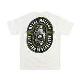 Metal Mulisha Men's Destruction Tee White Back