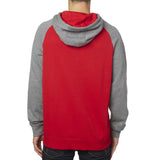Fox Racing Men's Dirt Burn Pullover Fleece Hoodie Red Back