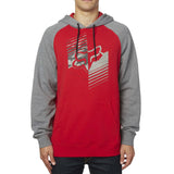 Fox Racing Men's Dirt Burn Pullover Fleece Hoodie Red