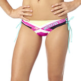 Fox Racing Women's Divizion Lace Up Bikini Bottom Fuchsia