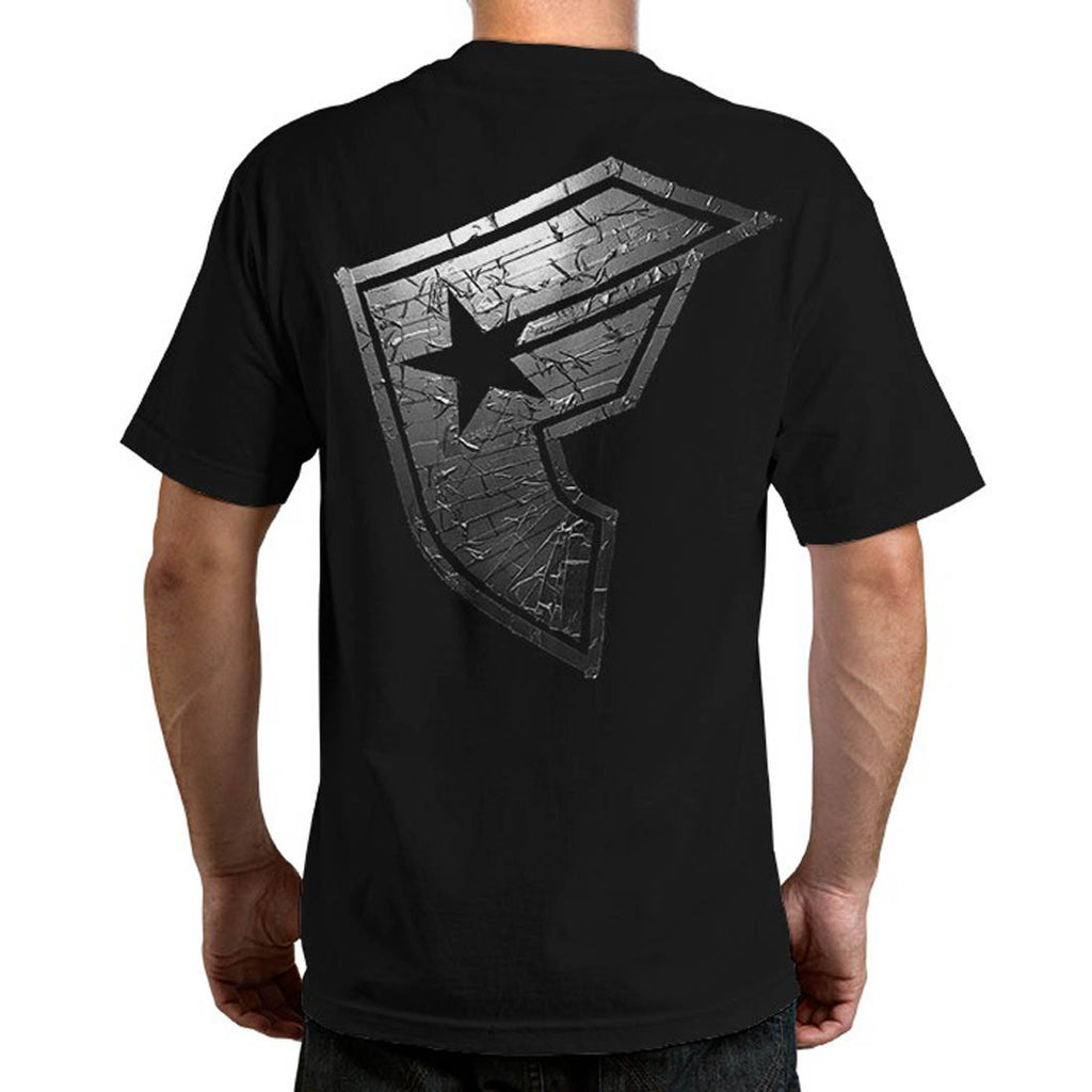 Famous Stars and Straps Duct BOH Men's Tee Black Back