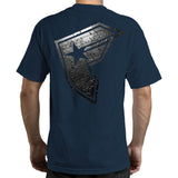 Famous Stars and Straps Duct BOH Men's Tee Navy